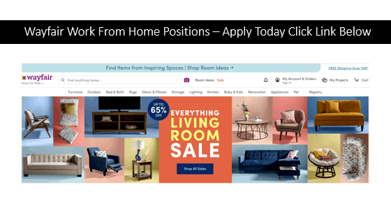 Wayfair Work From Home