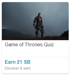 Game of Thrones Quiz to Earn Cash